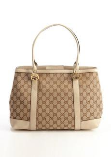 Gucci beige GG canvas 'Miss GG' tote