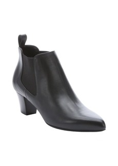 Gucci black leather 'Helene' ankle boots