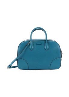 Gucci blue diamante leather convertible bag