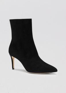 Gucci Boot - Brooke Suede Mid Calf High Heel