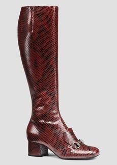 Gucci Boot - Lillian Python