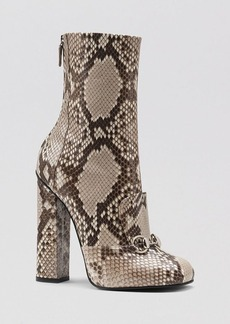 Gucci Bootie - Lillian Python High Heel