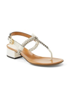 Gucci 'Candy' Suede & Leather Sandal (Women)