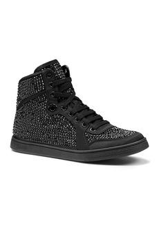 Gucci Coda High Top Satin Colorblock Sneaker