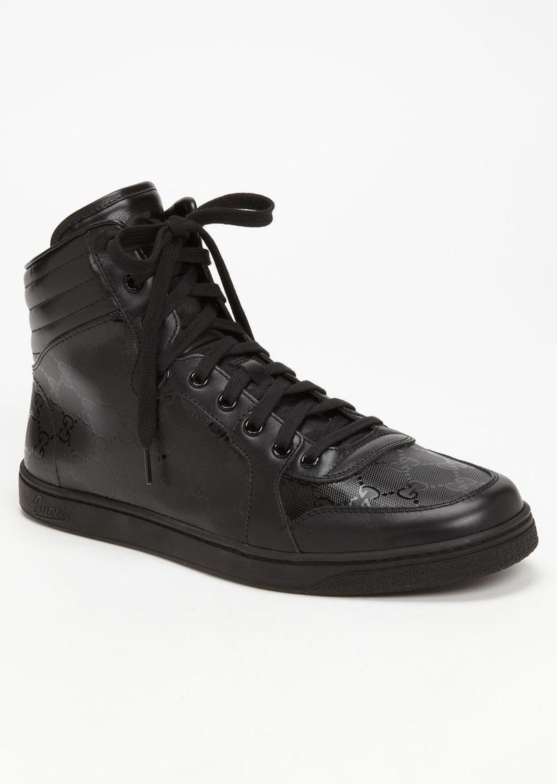 gucci gucci 39 coda 39 high top sneaker shoes shop it to me. Black Bedroom Furniture Sets. Home Design Ideas