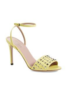 Gucci 'Coline' Studded Ankle Strap Sandal (Women)