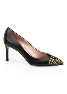 Gucci Coline Studded Leather Pumps