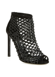 Gucci 'Eline' Crystal Cage Open Toe Sandal