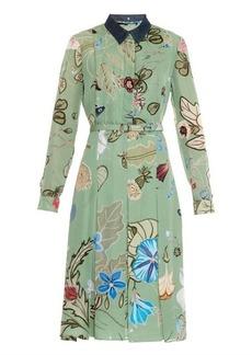 Gucci Flora Knight-print shirtdress