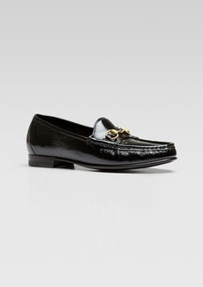 Gucci Frame Patent Loafer