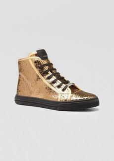 Gucci Glitter High Top Sneaker - California