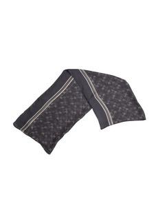 Gucci grey GG plus silk scarf