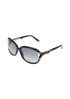 Gucci grey square lens sunglasses