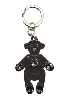 Gucci greyfield plexiglass teddy bear keychain