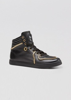 Gucci High Top Chain Sneaker - Coda