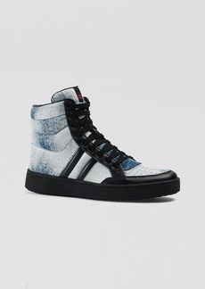 Gucci High Top Sneakers - Ronnie Denim