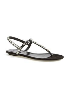 Gucci Jeweled Thong Sandal (Women)