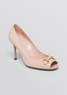 Gucci Jolene Mid Heel Pump