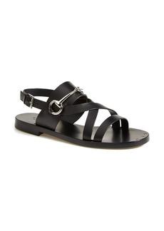 Gucci 'Juliette' Flat Bit Sandal (Women)