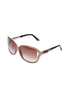 Gucci khaki square lens sunglasses