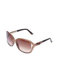 Gucci khaki square lens sunglasses