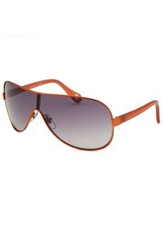Gucci Kids' Shield Orange Sunglasses