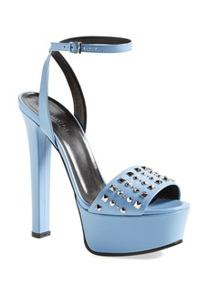 Gucci 'Leila' Studded Platform Sandal (Women)