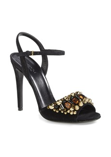 Gucci 'Malin' Suede Sandal (Women)