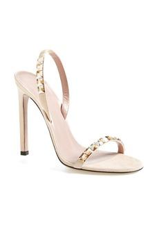 Gucci 'Mallory' Jeweled Sandal (Women)