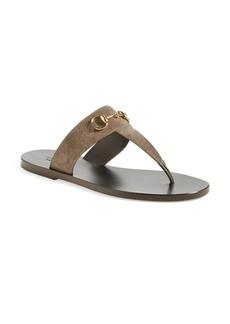 Gucci 'Marcy' Bit Thong Sandal