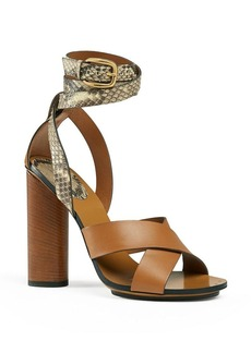 Gucci Open Toe Sandals - Candy Ankle Strap High Heels