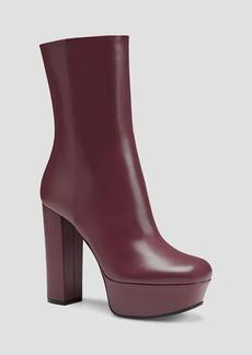 Gucci Platform Boot - Claudie Mid Shaft High Heel