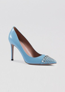 Gucci Pointed Toe Pumps - Coline Stud 95MM High Heel