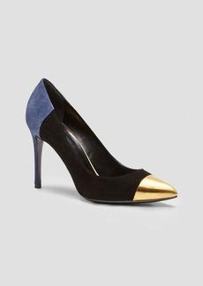 Gucci Pump - Coline Cap Toe High Heel