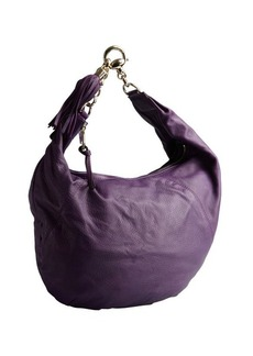 Gucci purple leather 'Sienna' chain strap hobo