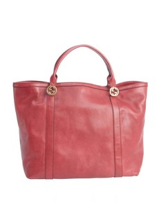 Gucci raspberry leather 'Miss GG' tote