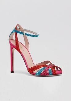 Gucci Sandal - Hala Crystal High Heel