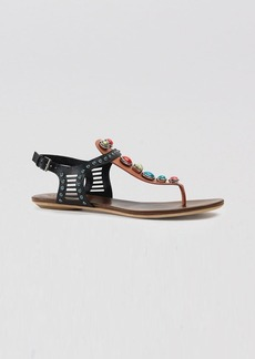 Gucci Sandals - Lika Colorblock Stone Flat Thong