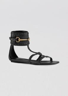 Gucci Sandals - Ursula Flat Stitched
