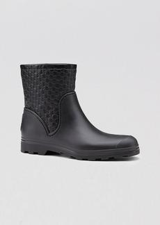 Gucci Short Flat Rain Boot - New Prato