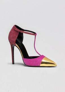 Gucci T-Strap High Heel Pump - Coline