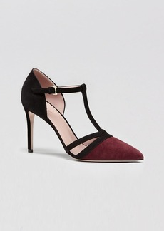 Gucci T-Strap High Heel Pump - Reese