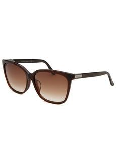 Gucci Women's Wayfarer Brown Sunglasses