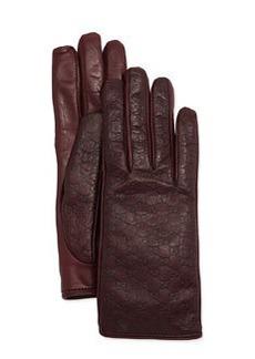 Napa Logo Driving Gloves, Burgundy   Napa Logo Driving Gloves, Burgundy