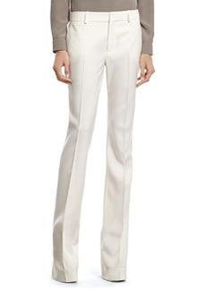 White Wool 60's Flare Pant   White Wool 60's Flare Pant