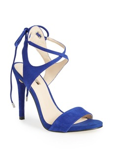 GUESS 'Christa' Crisscross Ankle Strap Sandal (Women)