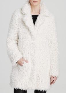 GUESS Coat - Shag Faux Fur