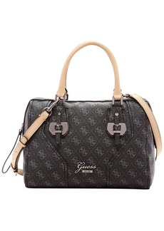 GUESS Confidential Logo Box Satchel