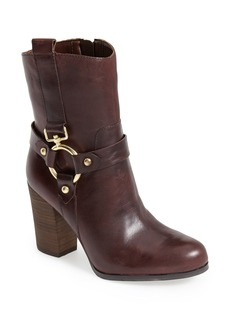 GUESS 'Dari' Leather Harness Bootie (Women)