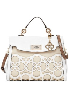 GUESS Day-Z Top Handle Flap Bag